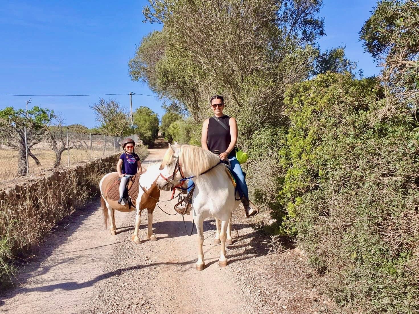 Ausreiten Mallorca mit Pferd