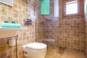 Badezimmer Finca Mallorca für 22 Personen Can Agustin