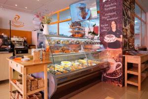 Biggi`s Cafe mit großer Auswahl an Leckereien