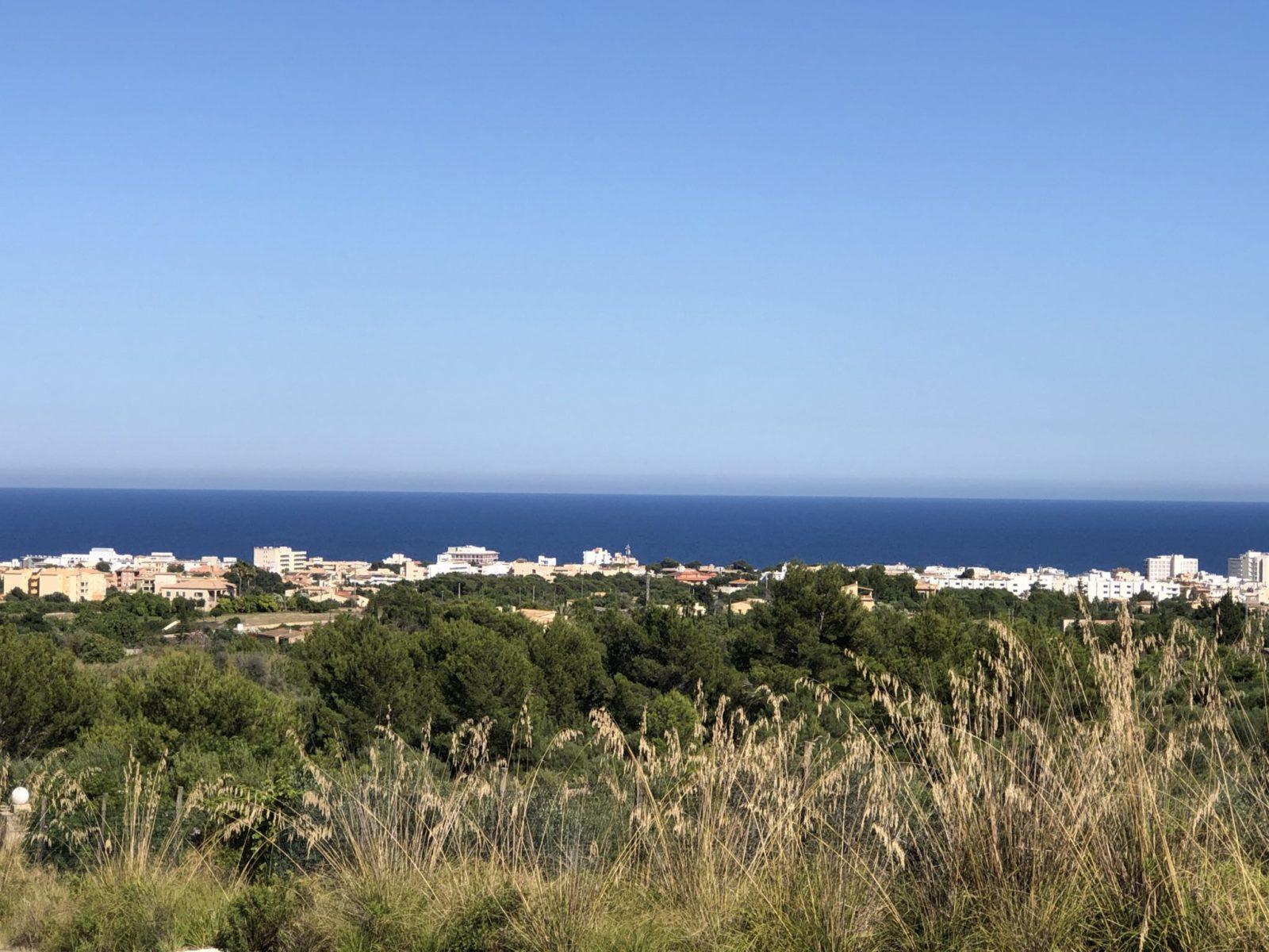 Cala Millor von Can Agustin aus gesehen