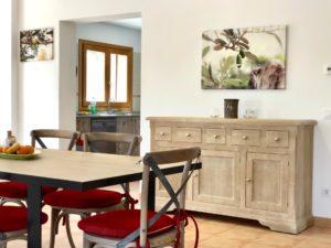 Esszimmer Finca Mallorca für 22 Personen Can Agustin