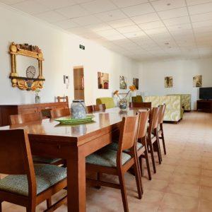 Esszimmer Wohnzimmer Haus 2 Finca Mallorca Can Agustin