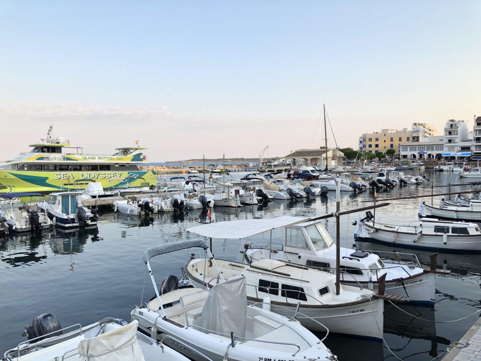 Hafen Cala Bona Mallorca