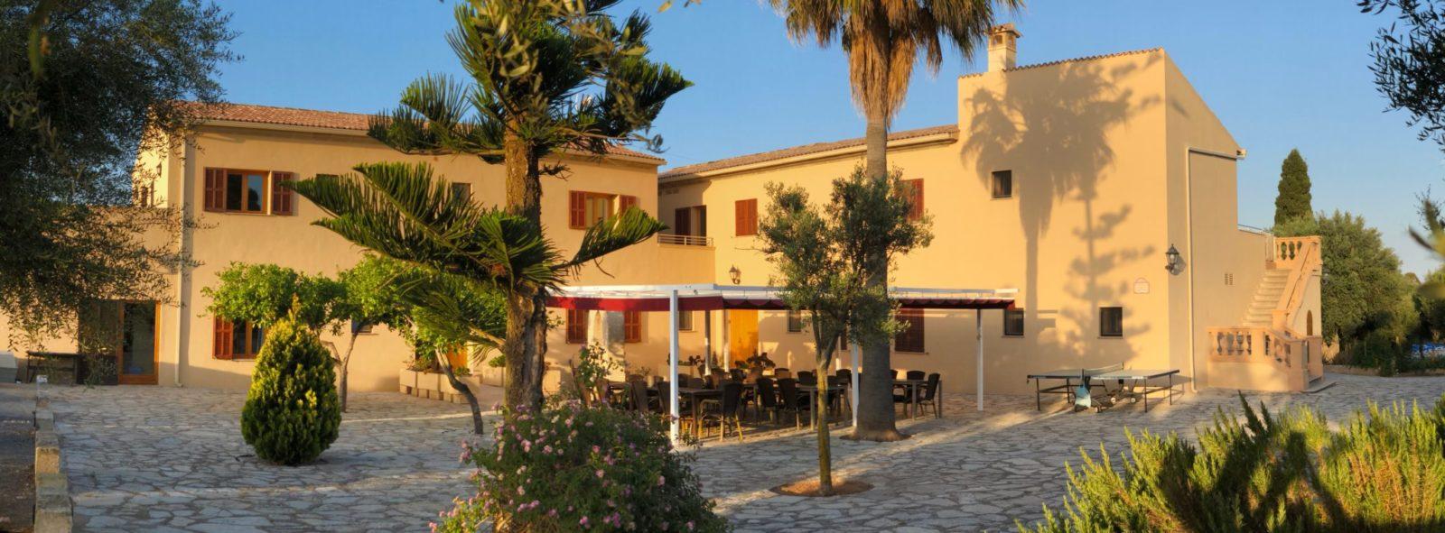 Panorama Haus 1 und 2 Finca Mallorca Can Agustin