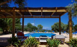 Schattenplätze am Pool Finca Mallorca für 22 Personen Can Agustin