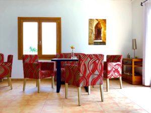 Wohnzimmer Finca Mallorca für 22 Personen Can Agustin