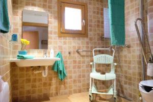 Behindertengerechte Bäder Unterkunft Finca Mallorca