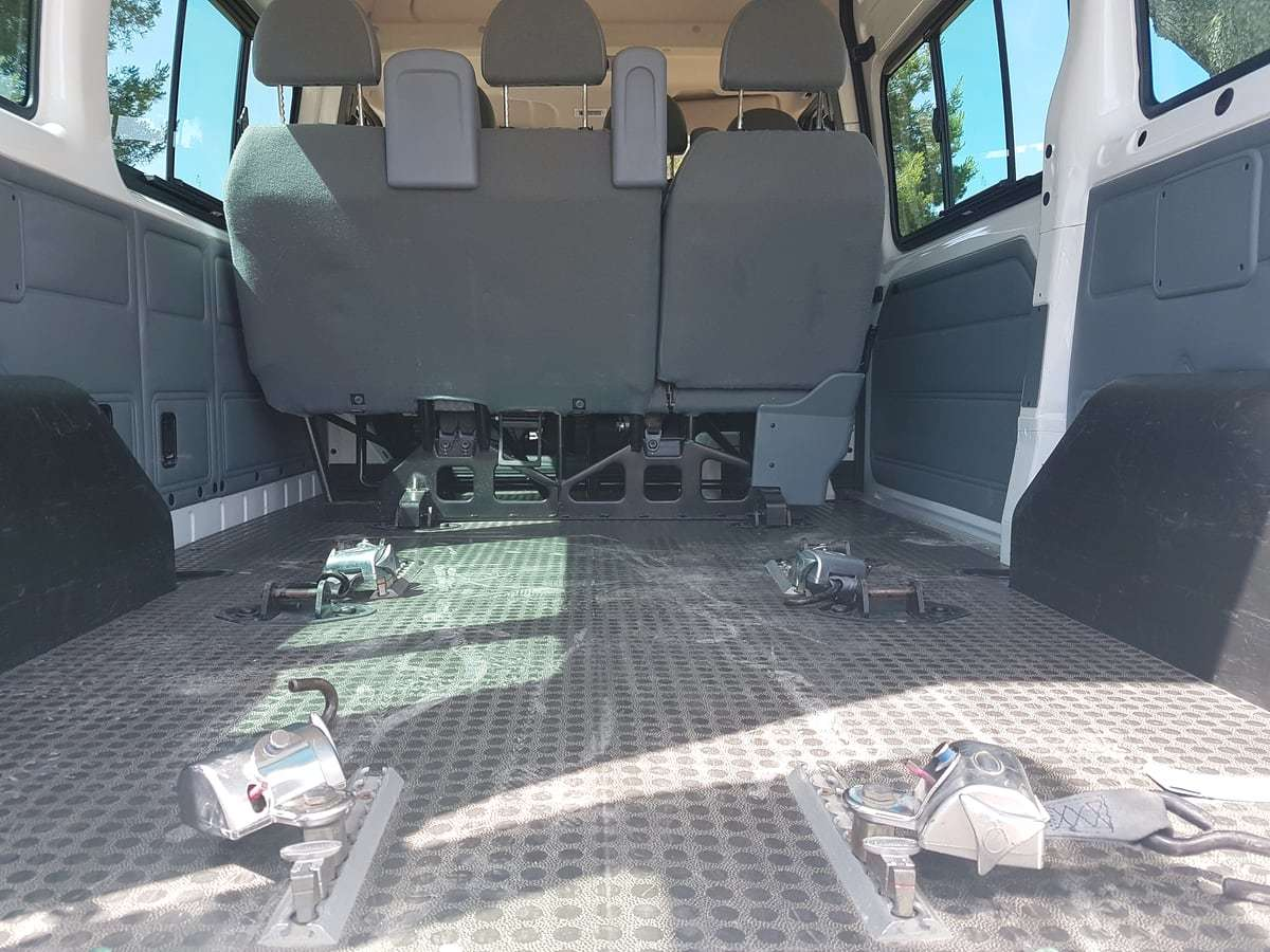 Behindertengerechtes Fahrzeug