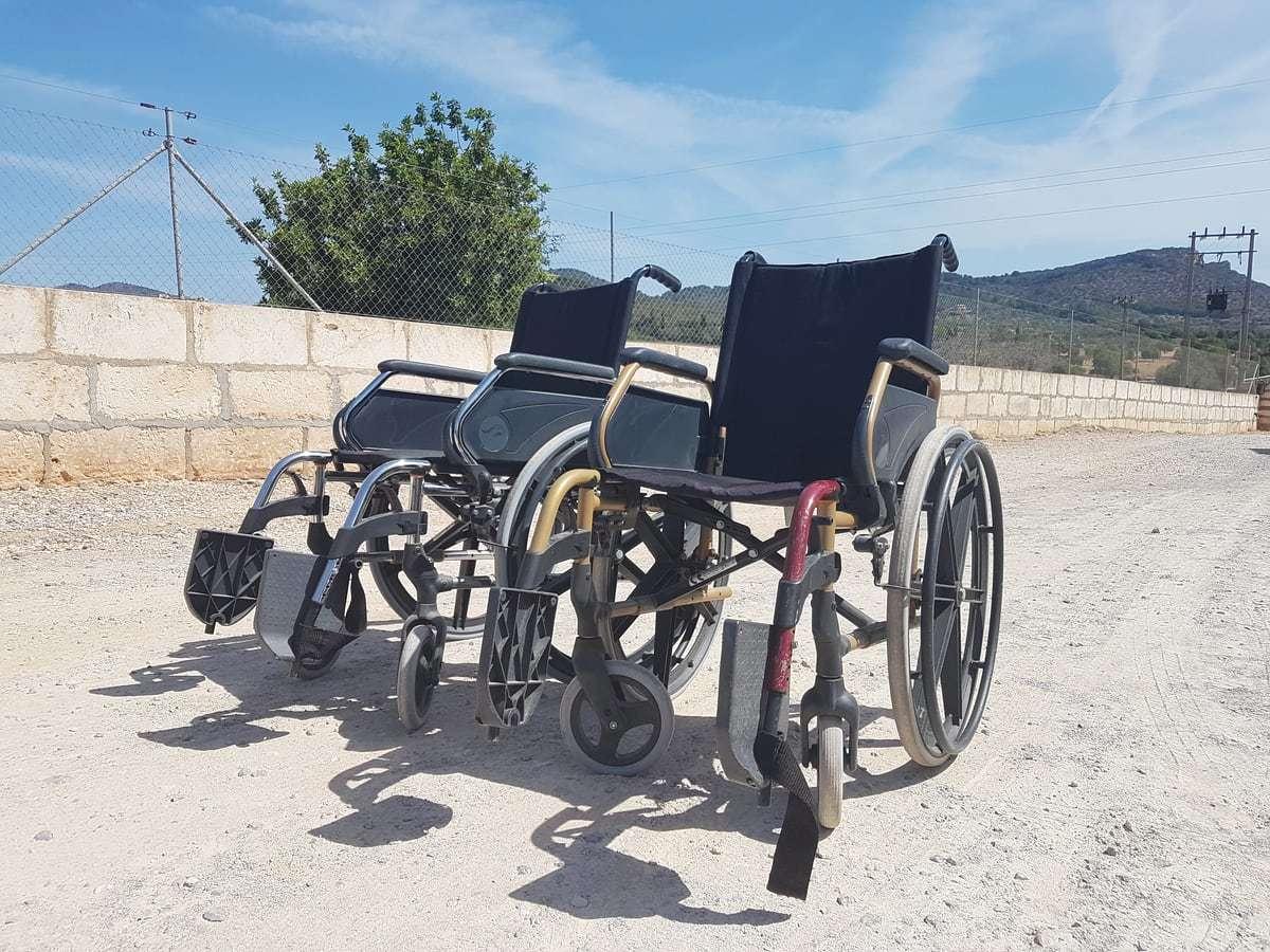 Rollstuhl zum Ausleihen