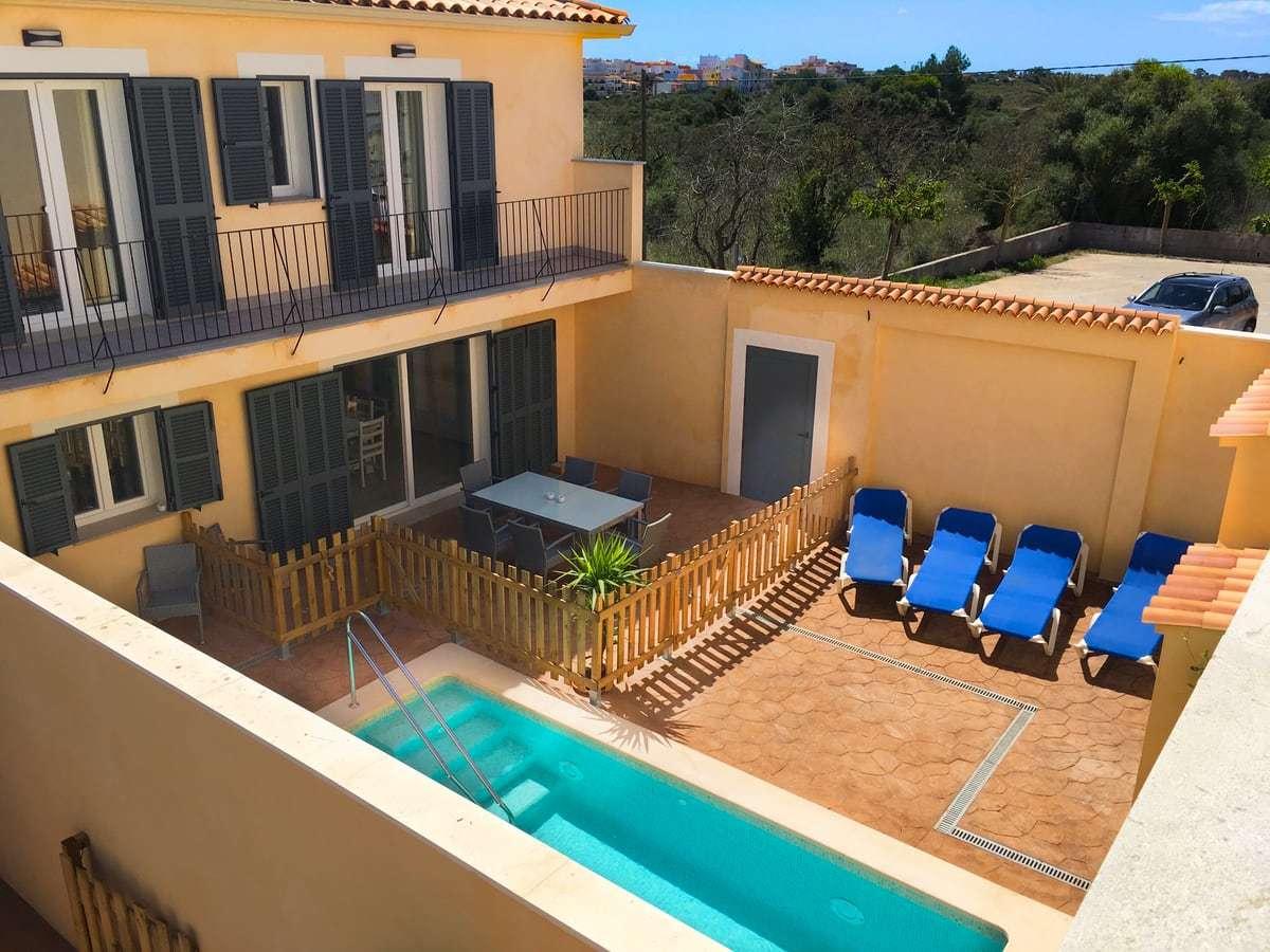 Ferienhaus auf Mallorca mit Terrasse und Pool